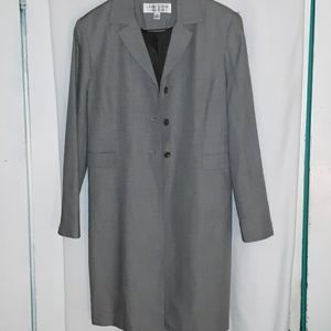 Larry Levine Essential jacket mid thigh lenght